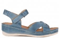 Босоножки Wasak 0473 jeans