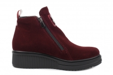 Ботинки женские Krok 235 bordo zamch