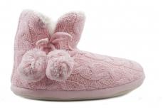 Тапочки женские Home Story 31058-DS pink