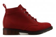 Ботинки женские PANORAMA PN777/DR red