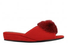 Тапочки женские Inblu AP-1S-red
